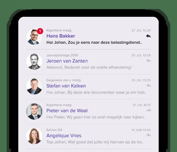Snelle whatsapp-achtige communicatie